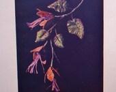 Rafia Decorative Work Flowers Fruit and Foliage Elizabeth Lawson Vintage 20s Sewing Book Embroidery Millinery Trims Raffia Flower Making
