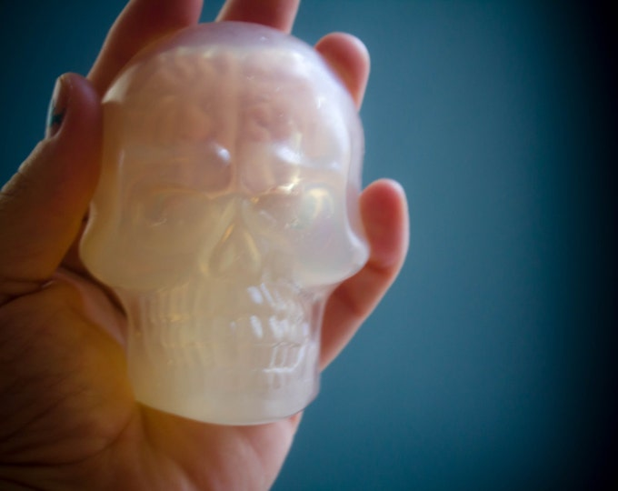 Featured listing image: Skull & Brain Soap Glycerin Soap Bar