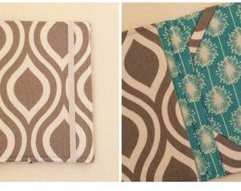 Kindle Paperwhite Case, Nook Glowlight Plus Case, all sizes available, Curves aqua tablet case