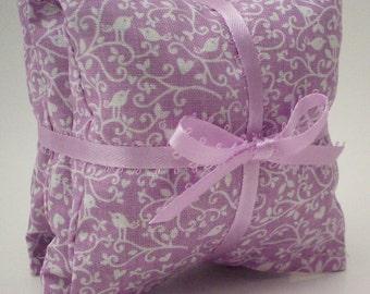 Lavender Sachets - Sweet Heart Vines - Home Aromatherapy - Lavendar Bags - Drawer Fresheners - Gift for Women & Hostess - Gift for Teachers