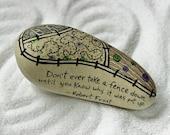 Custom Order for Joanna...Stone Poem