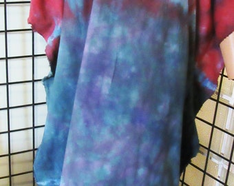 Ivy cotton  Caftan, Kaftan Dress, Hand Dyed,  Plus, One Size