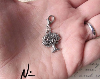 Tree of Life Zipper Pull - Clip-On Charm