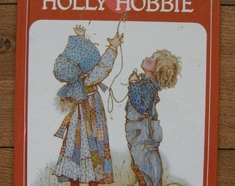 vintage 70s a TREASURY of HOLLY HOBBIE children lovely verses and illustrations