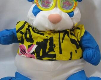 Vintage Fisher Price Wild Puffalumps Panda Bear with Sunglasses