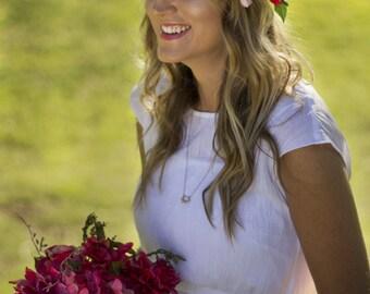 Selena Floral Crown Silk Flower Crown