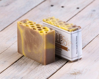 Honey Bunny Soap   Vegan Soap   Honey Soap   Vanilla Soap   Cold Process Soap   Handmade Soap   Homemade Soap   Artisan Soap