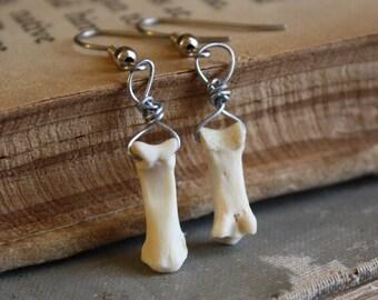 Bone Earrings - Halloween Earrings