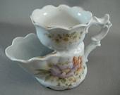 Victorian Shaving Mug w/ Flower Design