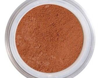 Blush Makeup / CORIANDER / Loose Mineral Blush / Natural Blush / Spiced Terracotta Blush / Vegan + Cruelty Free / Natural Mineral Makeup