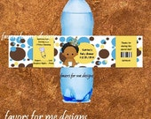 20 Prince Theme Water Bottle Wrappers