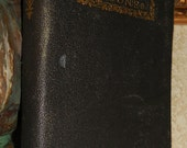 Antique 1893 LORNA DOONE Romance Leather Cover Book Vol 1 by Blackmore