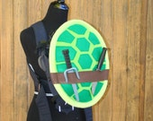 Teenage Mutant Ninja Turtle Shell Baby Carrier Accessory Bjorn, Ergo, Tula Cover with Huge Storage Pocket