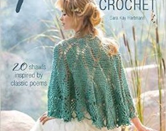 SIGNED COPY ~ Poetic Crochet Paperback Book by Sara Kay Hartmann