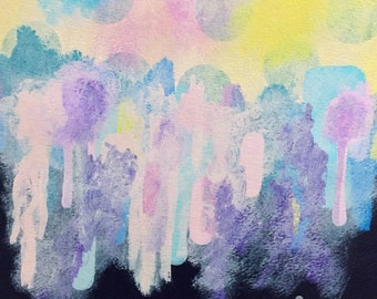 "Wanderlust / 8x10"" Acrylic Painting"