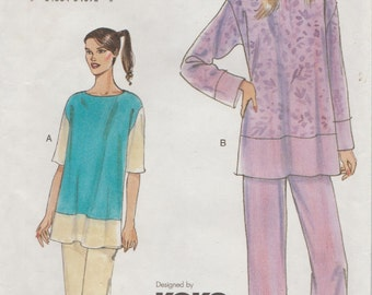 Very Easy Vogue 7577 / Sewing Pattern By Koko Beall / Tunic And Pants / Sizes 20 22 24