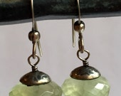 URBINA DESIGNS Aquamarine Drop Earring Sterling Silver
