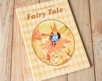 03 Fairy Tale cartoon flower elves notebook