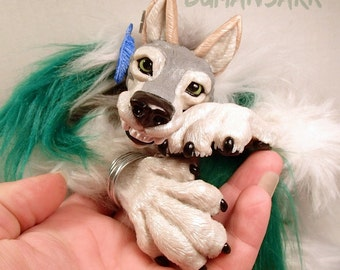 Custom Werewolf Sculpture