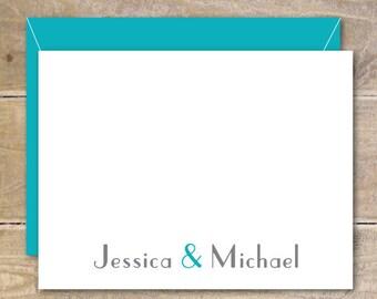 Ampersand,  Wedding Thank You Cards, Bridal Shower, Thank You Cards, Ampersand Wedding Thank You Cards, Affordable Wedding