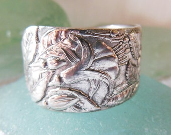 Antique Spoon Ring    Size 8.75