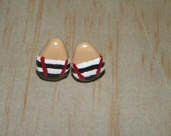 Minimalist Burton Tweedledum and Tweedledee Inspired Stud Earrings