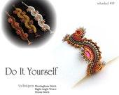 Step by step INSTANT download Pdf beading PATTERN Bracelet #18