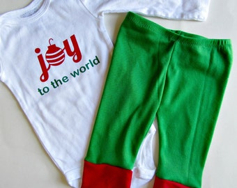 Baby Christmas Outfit 1st Christmas my first christmas baby clothes Christmas Onesie Holiday Onesies Christmas Baby Outfit baby boy clothes