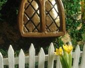 Fairy Garden, fairy garden, fairy doors and windows, all colours fairy windows for fairy garden, gifts for mom, fairy garden kit, 6013