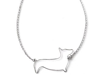 Corgi Necklace - Pembroke Welsh Corgi Necklace, Dog Lover Gift, Corgi Pendant