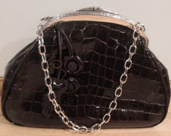Brighton Patent Leather Handbag Purse