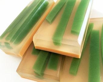 Soap, Dune Grass Soap, Bath Soap, Bar Soap, Soap Bar, Glycerin Soap, Bamboo Soap, Lemon Verbena, Bergamot Soap, Orchid Soap