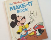 The Mickey Mouse Make-It Book - Disney's Wonderful World of Reading Book Club Book