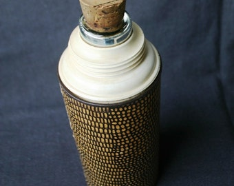 Old vintage Thermos bottle.