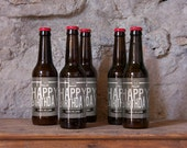 Custom Beer Bottle Labels Personalized Birthday Favors Beer Labels 30 40 50 Personalized Beer Waterproof Beer Labels Beer Stickers BL-1015