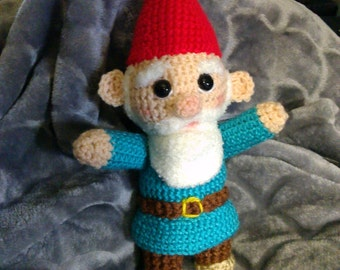 Crochet David the Gnome
