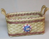 Digital Download, Instructions to Weave the Countertop Clutter Keeper Basket, Pattern