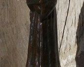 Small Vintage French Religious Statue St Anthony of Padua