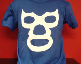 SALE Mexican Luchador Tshirt