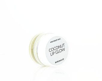 Coconut Lip Balm | 100% natural + vegan lip balm