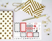 Fashionista - Happy Planner Functional stickers