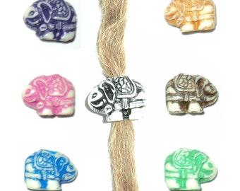 Elephant ganesha ganesh dread dreadlocks bead