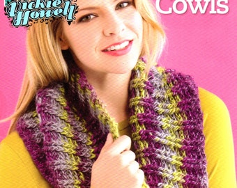 Vickie Howell's Top 10 Crocheted Cowls - CROCHET PATTERN BOOK