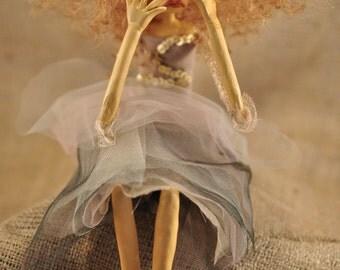 Nancy Art Doll, A Melandolly Art Piece