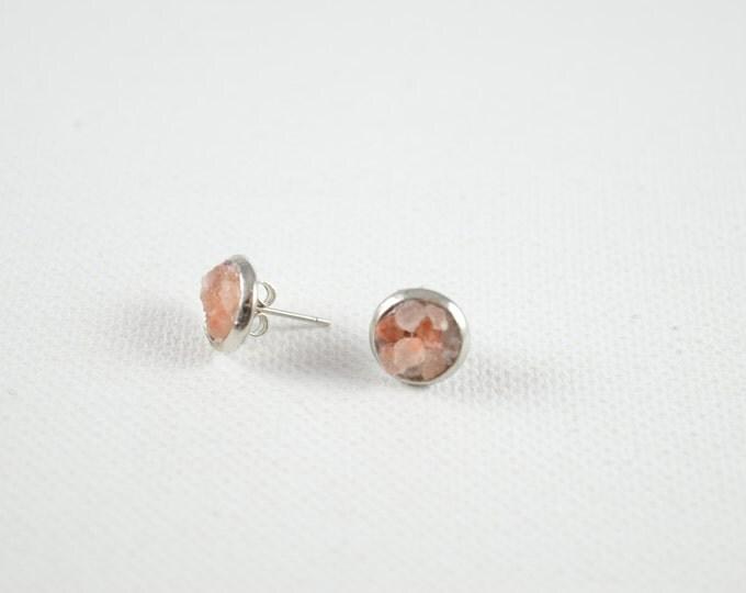 Himalayan Salt Stud Earrings