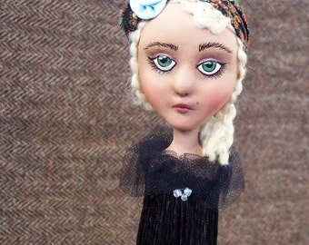 Painted Ladies Candlestick Doll: Cleo