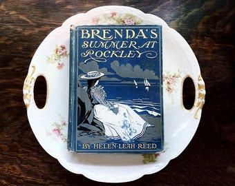 Brendas Summer At Rockley Antique First Edition Book 1901 illustrated By Jessie Wilcox Smith Written By Helen L Reed Decorative Vintage Book