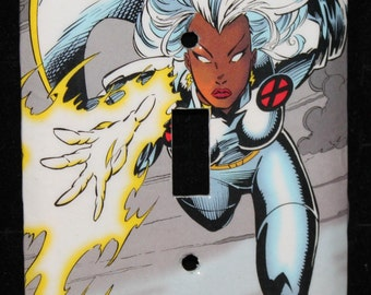 Xmen Storm Comic Book Switch Plate Wallplate Light Cover