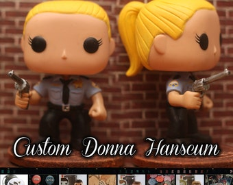 Supernatural Sheriff Donna Hascum - Custom Funko pop toy