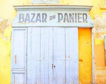 Bazar Du Panier  // 8x10 Travel Photography // French Print